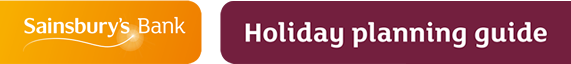Holiday planning guide from Sainsburys Bank