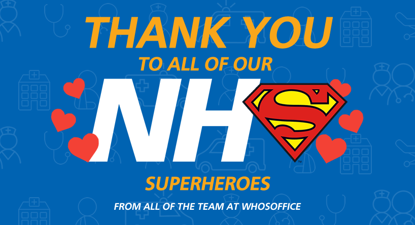 Thank you to all of our NHS Heroes