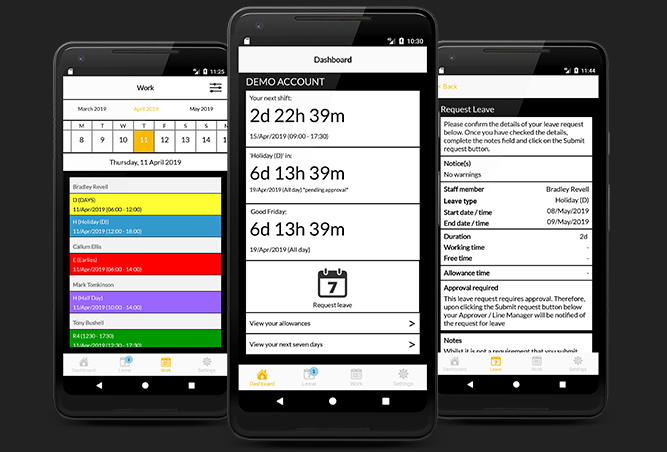 WhosOffice Android App