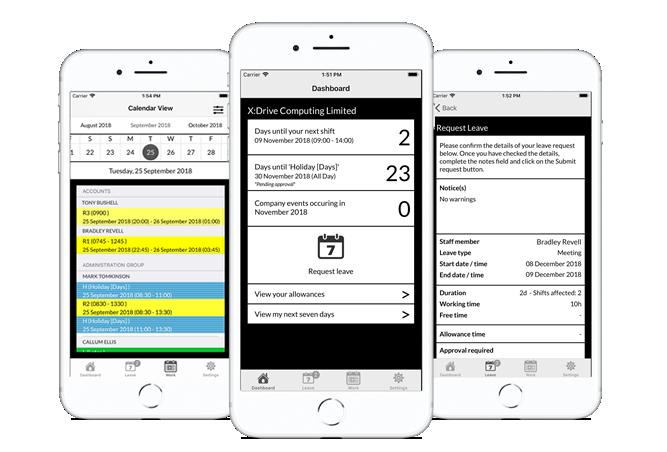 WhosOffice iOS App